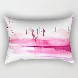 Cotton Candy Desert Rectangular Pillow
