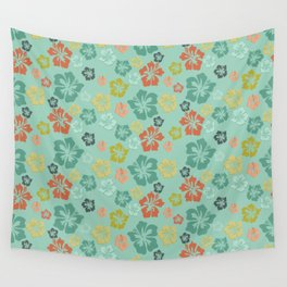 Hibiscus Love Wall Tapestry