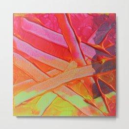Fluoro Bloom II  Metal Print