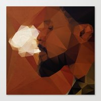 django Canvas Prints featuring Django by David