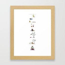 ...and more... Framed Art Print