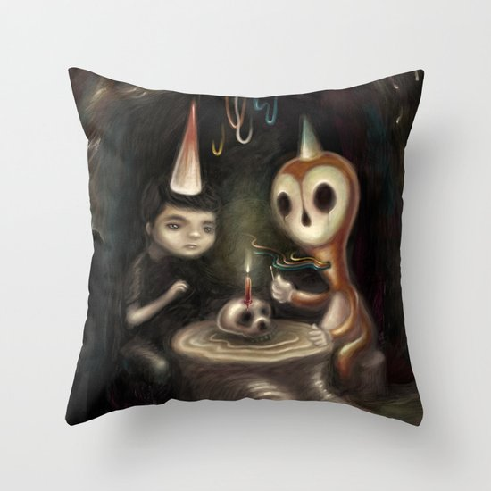 Another Year Closer Throw Pillow