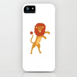 Trends Exercise Movement Flossing Gift Floss Dance Move Lion iPhone Case