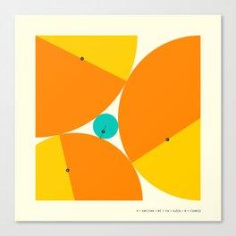 DESCARTES' THEOREM (3) Canvas Print
