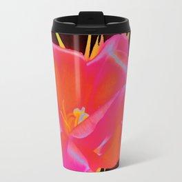 Glowing Flower Travel Mug
