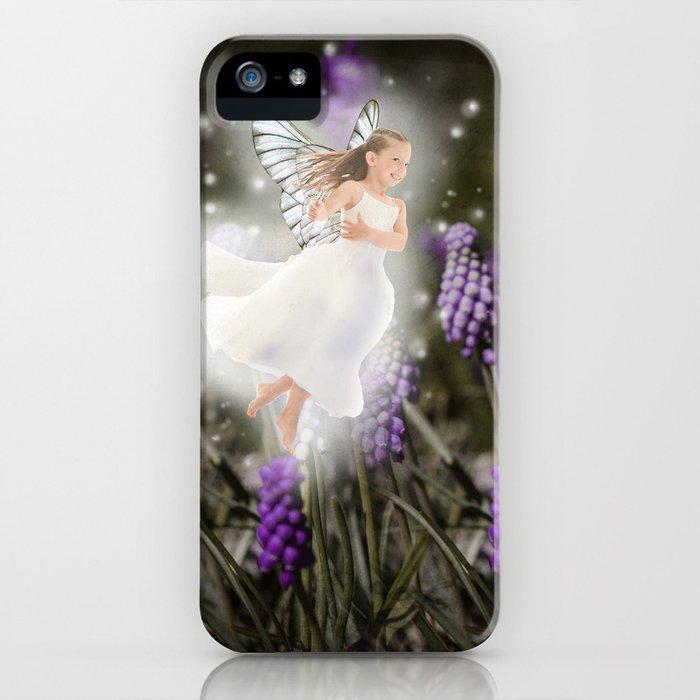 Hyacinth Fairy iPhone Case