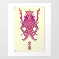 Mexicalt Art Print