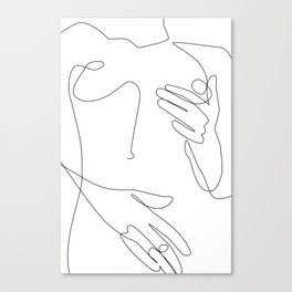 Sensual Erotic Canvas Print