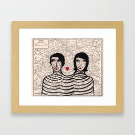French Connection Framed Art Print