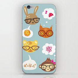 Talk Nerdy to Me iPhone Skin