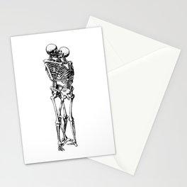 Kissing Skeleton Stationery Cards