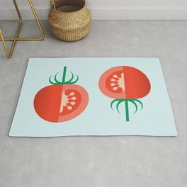 Vegetable: Tomato Rug
