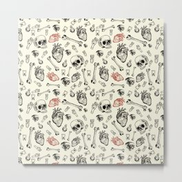 Grunge Pattern by Javi Codina Metal Print