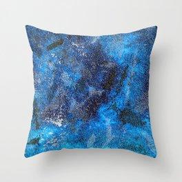 Blues Cosmos #3 Throw Pillow