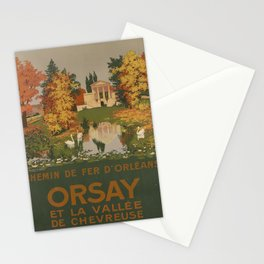 plakat ORLEANS Orsay voyage poster Stationery Cards