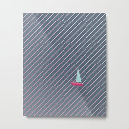 On the waves of adventure Metal Print