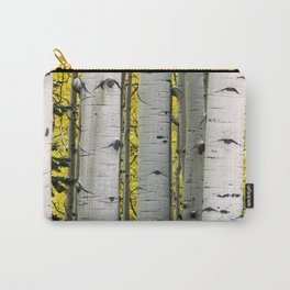 Into the Aspen Woods Carry-All Pouch