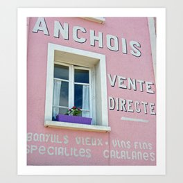 Anchovy House Art Print