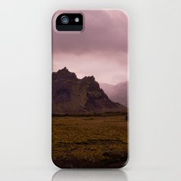 Midnight In Iceland iPhone Case