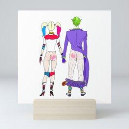 LOVE is no BUTT Joke Mini Art Print