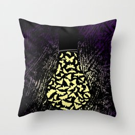 Dark Attraction Throw Pillow