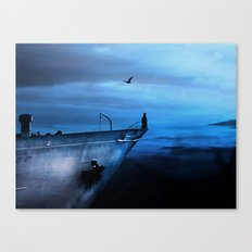 icecold longing Canvas Print