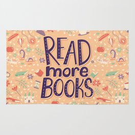 Read more books Rug