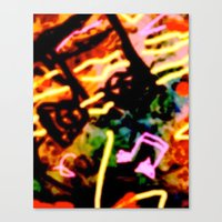 matisse Canvas Prints featuring Matisse Notes by RIA CURLEY: Limited Edition Digital Art