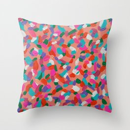 Coral Reef Delight Throw Pillow