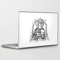 vader Laptop & iPad Skins featuring Vader by Julia Bruggeman