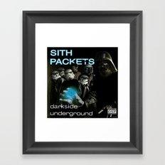 Darkside Undergound Sith Packets Framed Art Print