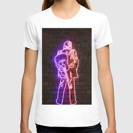 Cash neon art T-shirt