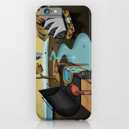 Where Time Stands Still - Surreal Sydney  iPhone Case