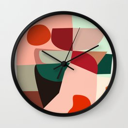 Geometric shapes Wall Clock