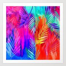 Tropical Heat Art Print