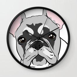 Jersey the French Bulldog Wall Clock