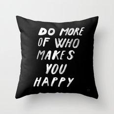 MORE Throw Pillow