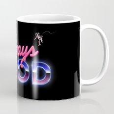 Always Good Space 80s Retro Coffee Mug