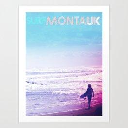 Surf DITCH Poster Art Print