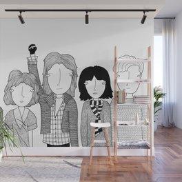El club de los cinco Wall Mural