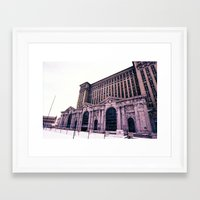 caleb troy Framed Art Prints featuring Troy by Litew8