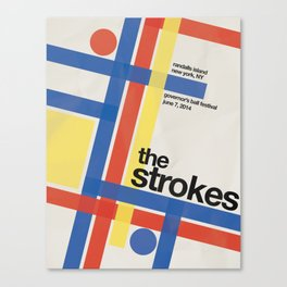 The Strokes Gov Ball Canvas Print