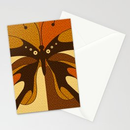 RETRO BUTTERFLY Stationery Cards