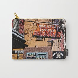 Signs of Greenwich Village, NYC Carry-All Pouch