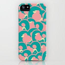 Multi Pudel iPhone Case