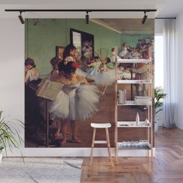 Degas The Dance Class Wall Mural