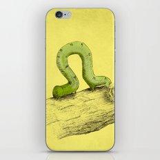 Inchworm iPhone & iPod Skin