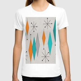 Mid-Century Modern Diamond Pattern T-shirt