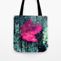 woods Tote Bags featuring woods  by mark ashkenazi