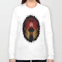 russian Long Sleeve T-shirts featuring Russian Royalty by David Lee
